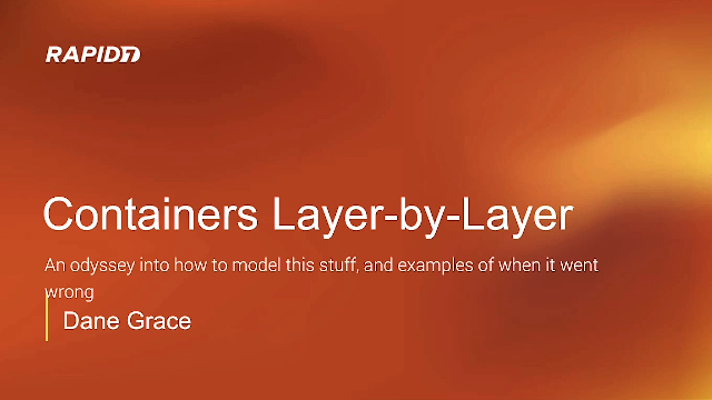 Containers Layer by Layer