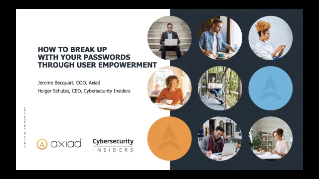 How to Break Up With Your Passwords Through User Empowerment