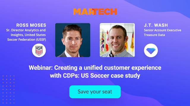 Creating a unified customer experience with CDPs: US Soccer case study