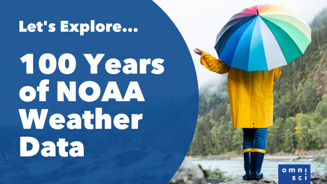 Let's Explore - 100+ Years of NOAA Weather Data
