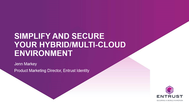 Simplify and secure your hybrid/multi-cloud environment