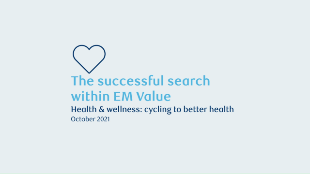 The successful search within EM Value. Health & wellness