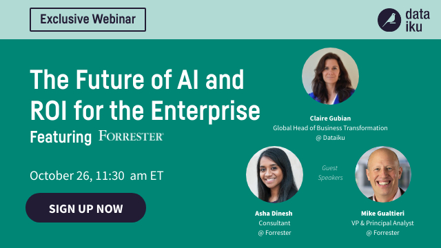 The Future of AI and ROI for the Enterprise, featuring Forrester