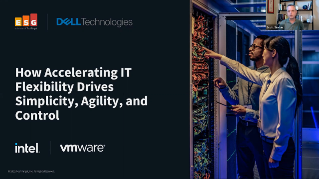 How Accelerating IT Flexibility Drives Simplicity, Agility, and Control