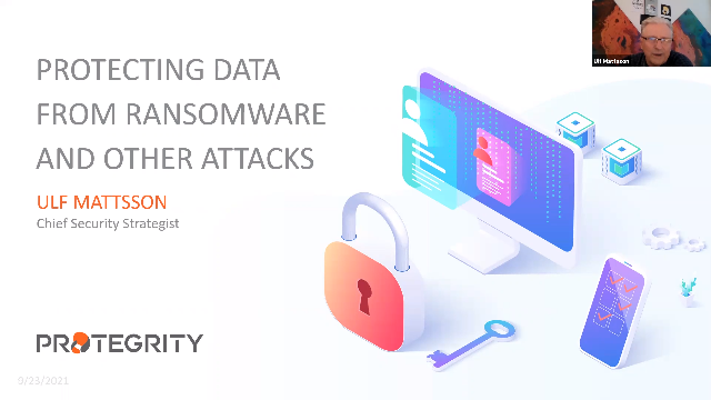 Protecting Data from Ransomware and other Attacks
