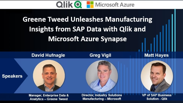 Gain Insights from SAP Data with Qlik and Microsoft