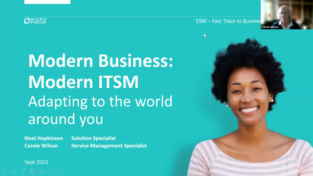 SITS Virtual Summit - Why Modern Business Requires Modern ITSM