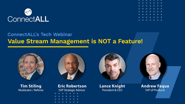 Value Stream Management is NOT a Feature!