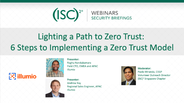 Lighting a Path to Zero Trust: 6 Steps to Implementing a Zero Trust Model