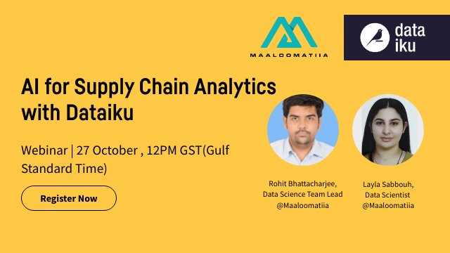 AI for Supply Chain with Dataiku