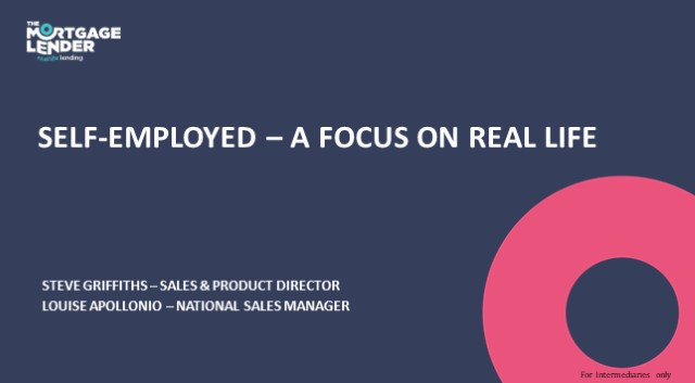 Self Employed – a focus on Real Life
