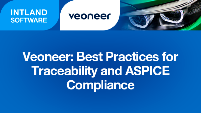 Veoneer: Best Practices for Traceability and ASPICE Compliance