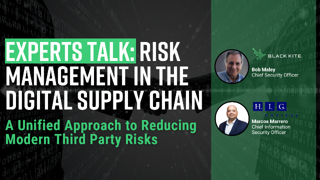Experts Talk: Risk Management in the Digital Supply Chain