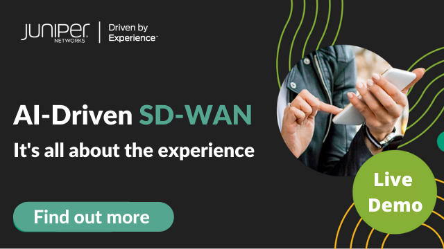AI-Driven SD-WANsday: Session Smart Demo