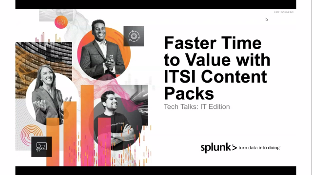 Faster Time to Value with ITSI Content Packs