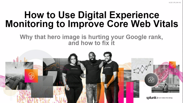 How to Use Digital Experience Monitoring to Improve Core Web Vitals