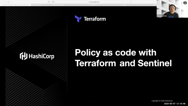 [Korean] Policy as Code with Terraform and Sentinel
