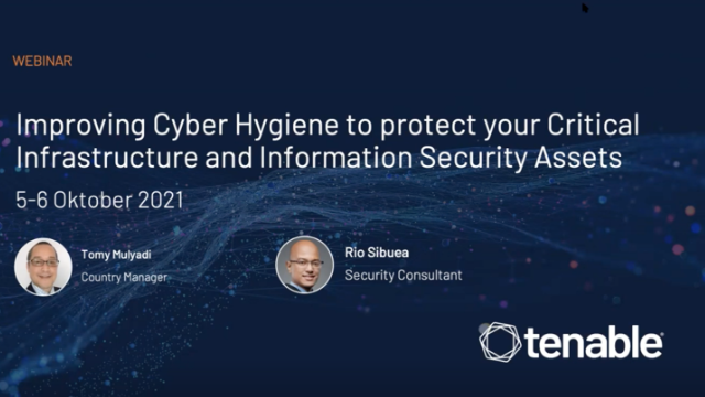 Improving Cyber Hygiene to protect Critical Infra & Infosecurity Assets ID