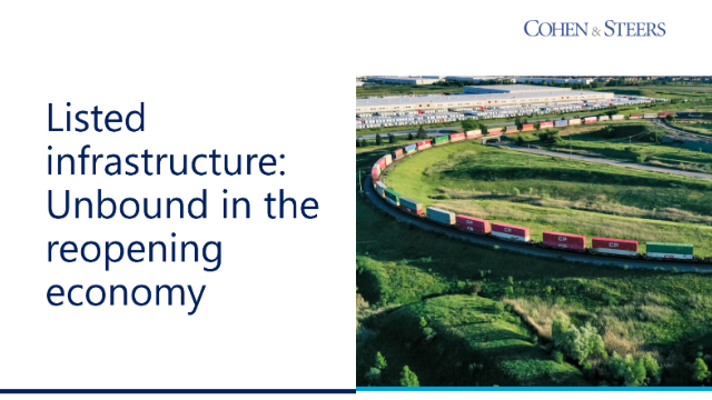 Listed infrastructure: Unbound in the reopening economy