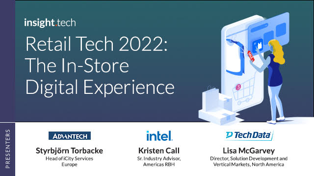 Retail Tech 2022: The In-Store Digital Experience