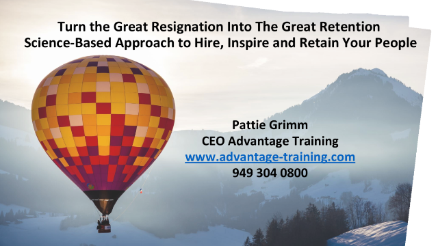 Great Retention: A Science-Based Approach to Hire, Inspire & Retain Your People