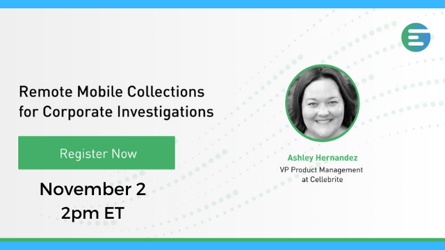 Remote Mobile Collections for Corporate Investigations