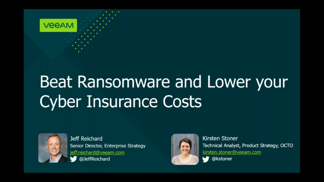 Beat ransomware and lower insurance costs