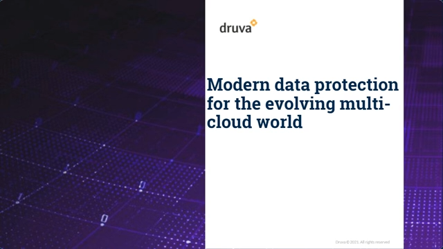 Build a vision for Data Center, Edge, and SaaS Apps, & data protection