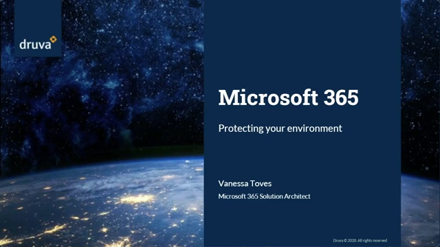 Microsoft 365 - Protecting your environment [Part I]