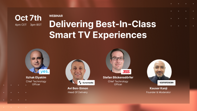 Delivering Best-In-Class Smart TV Experiences