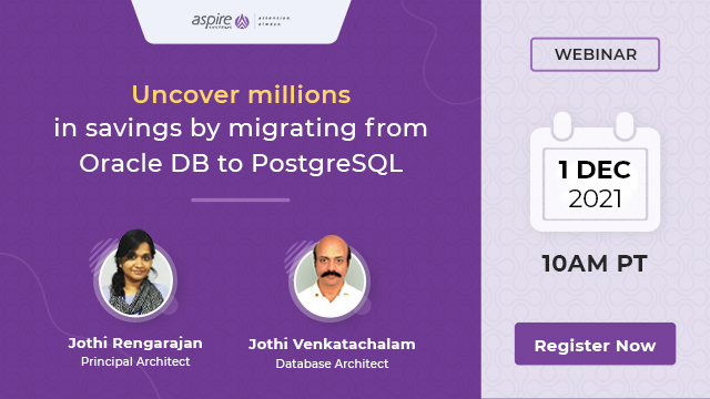 Uncover millions in savings by migrating from Oracle DB to PostgreSQL