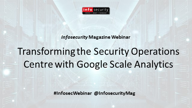 Transforming the Security Operations Centre with Google Scale Analytics