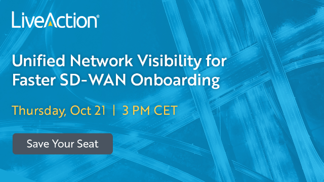 Unified Network Visibility for Faster SD-WAN Onboarding | EMEA