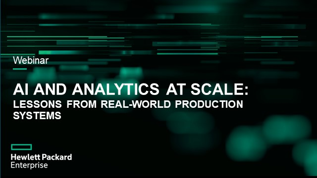 AI and Analytics at Scale: Lessons from Real-World Production Systems