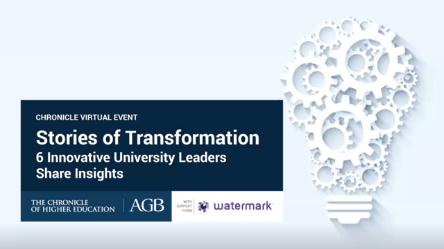 Stories of Transformation: 6 Innovative University Leaders Share Insights