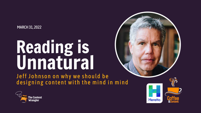 Reading Is Unnatural