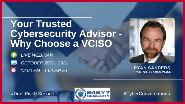 Your Trusted Cybersecurity Advisor - Why Choose a VCISO
