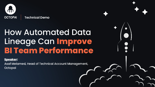 How Automated Data Lineage Can Improve Business Intelligence Team Performance