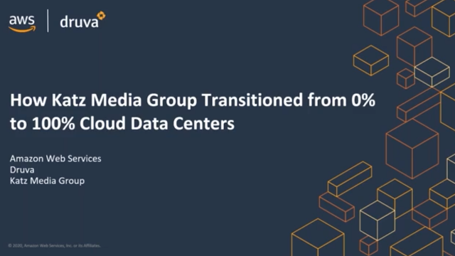 How Katz Media Group transitioned from 0% to 100% cloud-based data centers