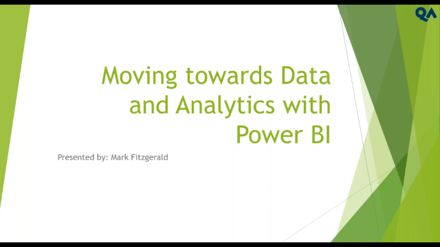Moving Towards Data and Analytics with Power BI
