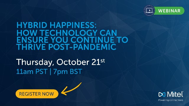 Hybrid Happiness: How technology can ensure you continue to thrive post-pandemic