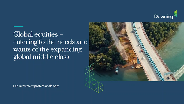 Global equities catering for the needs & wants of the growing middle class