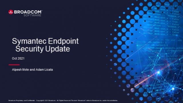 Product Update: Symantec Endpoint Security Complete
