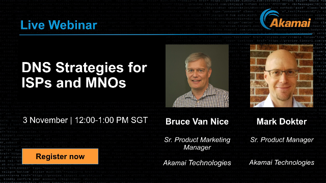DNS Strategies for ISPs and MNOs (APJ)