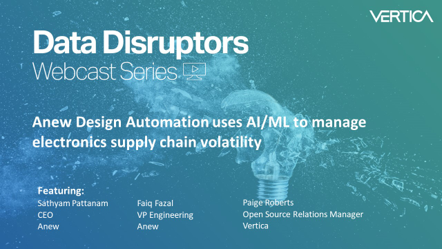 Anew Design Automation uses AI/ML to manage electronics supply chain volatility