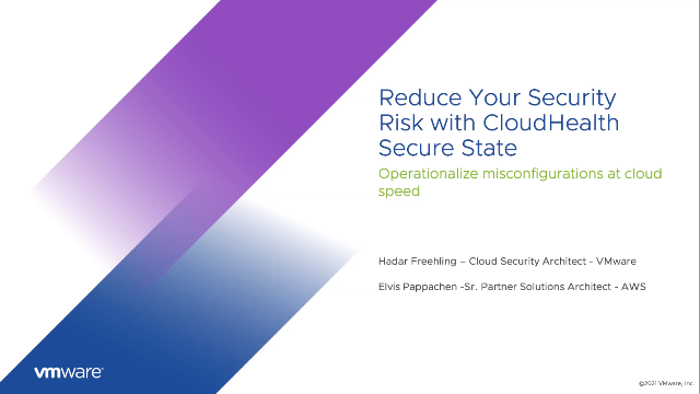Reduce your Security Risk with CloudHealth Secure State