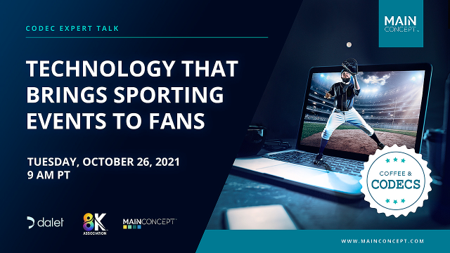 Technology That Brings Sporting Events to Fans, Coffee & Codecs, ep 2