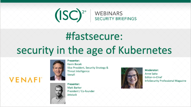 #fastsecure: security in the age of Kubernetes