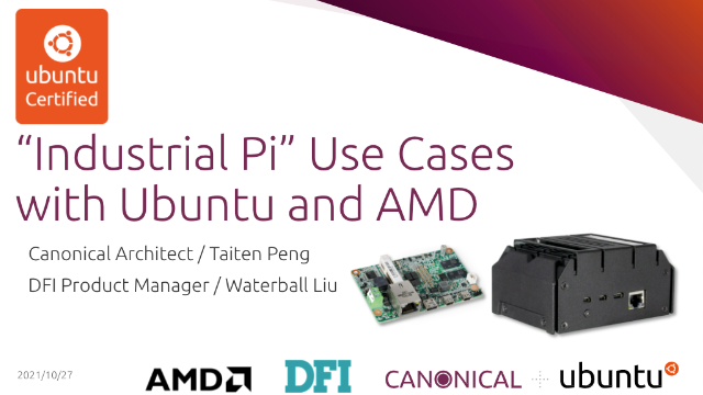 """""""Industrial Pi"""" Use Cases With Ubuntu and AMD"""
