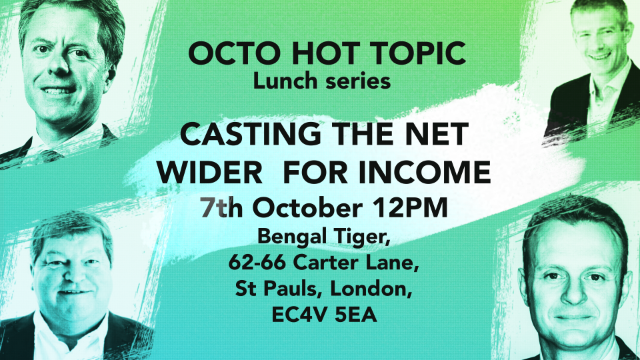 HOT TOPIC - LONDON - Casting the net wider for income (physical lunch)